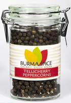 Black Peppercorns Jumbo | Tellicherry Black Pepper | All-Uses International Cuisine Spice 2 oz.