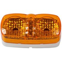 "Blazer CW1544A 4"" LED Oblong Clearance/Marker Light, Amber"