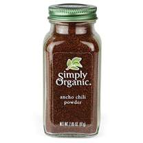Simply Organic Ancho Chili Powder, Certified Organic | 2.85 oz | Pack of 3