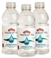 Turkey Hill Trace of Tea (Black Tea with Mint), Purified Water with Tea Essence, No Calories – No Added Sweeteners – No Artificial Flavors – No Colors, 20 oz. Bottles (Set of 12)