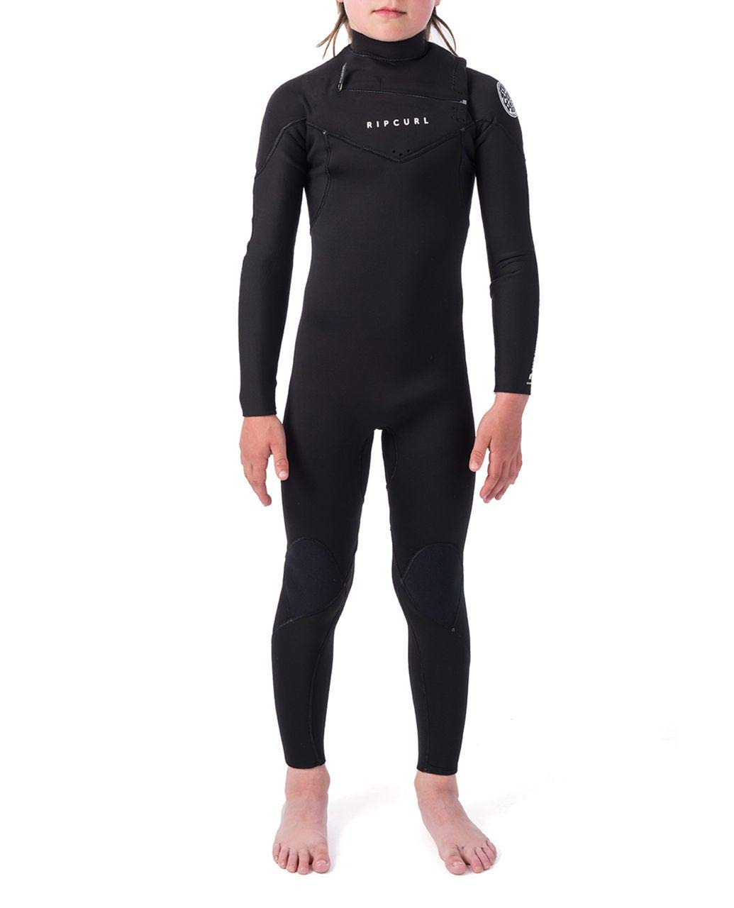 Rip Curl Dawn Patrol Wetsuit   Kid's Neoprene Full Suit Chest Zip Wetsuit For Surfing, Watersports, Swimming, Snorkeling   Designed for Durability   3/2 mm