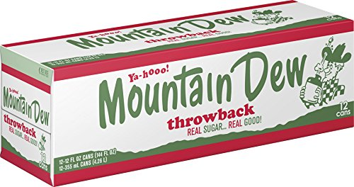 Mountain Dew Throwback, 12 Fl Oz (pack of 12)