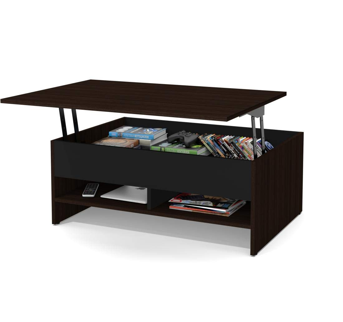 """Bestar, Small Space Collection, 37"""" Lift-Top Coffee Table"""