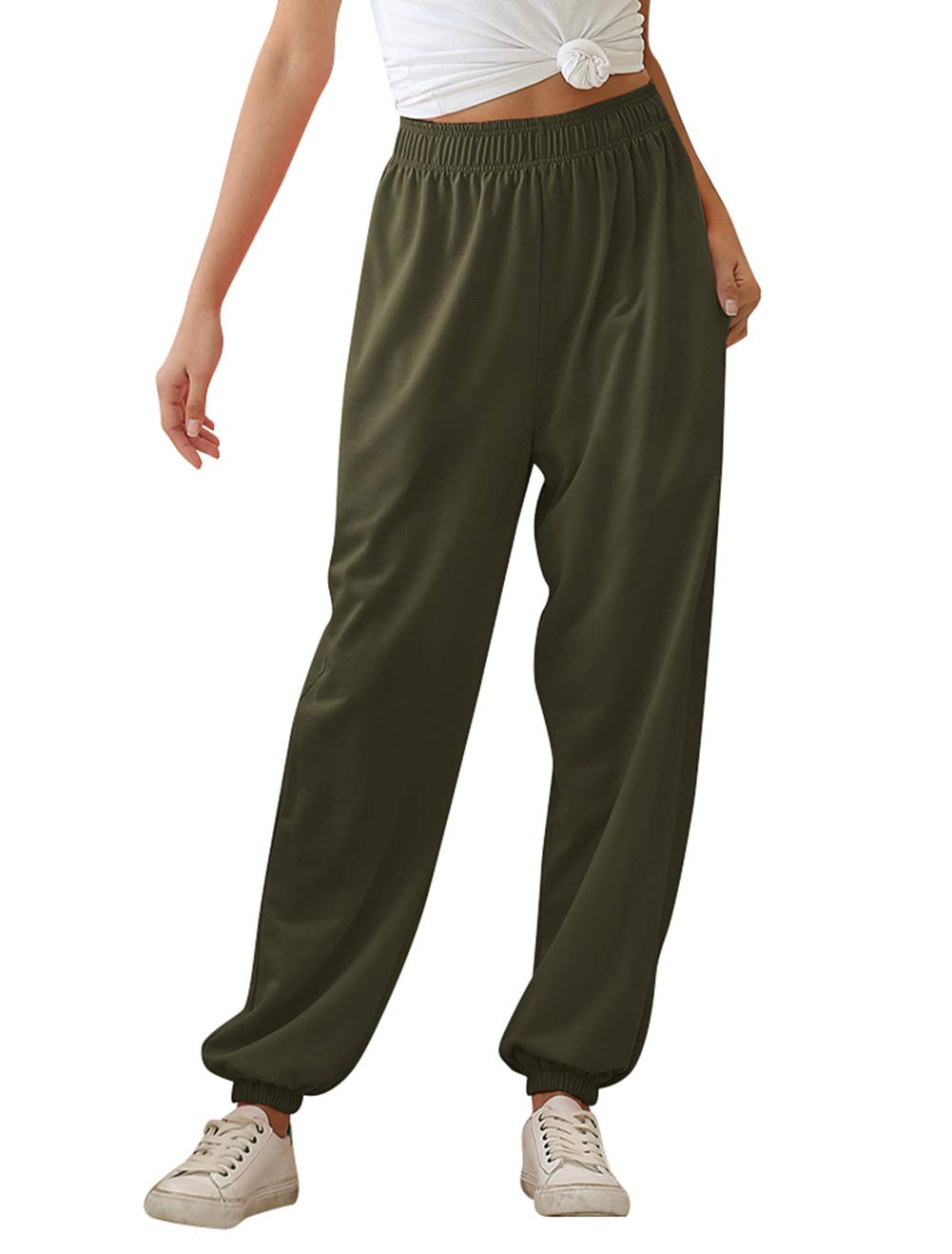 KEFITEVD Mens Lightweight Sweatpants Loose Fit Open Bottom Mesh Athletic Pants with Zipper Pockets