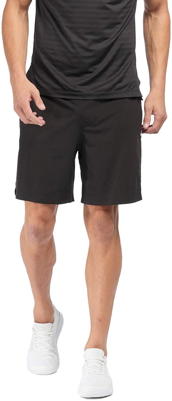 """Rhone Mens 7"""" Swift Running Short Lined Perforated Quick-Drying Athletic Workout Performance Shorts"""