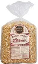 Amish Country Popcorn | 6 lb Bag | Medium Yellow Popcorn Kernels | Old Fashioned with Recipe Guide (Medium Yellow - 6 lb Bag)
