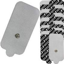 TENS Unit Snap-On Electrode Pads, Reusable (20)