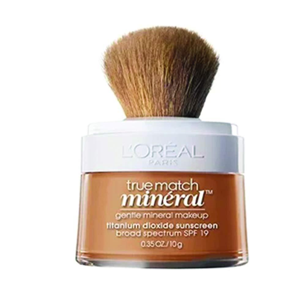 L'Oreal Paris True Match Mineral Loose Powder Foundation, Sun Beige, 0.35oz