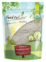 Organic Dark Rye Flour by Food to Live (Whole Grain, Non-GMO, Stone Ground, Kosher, Raw, Vegan, Bulk, Great for Baking Bread, Product of the USA) — 1 Pound