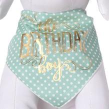 Tail Trends Happy Birthday Dog Bandana for Girls Boy Unisex Pets - 100% Cotton