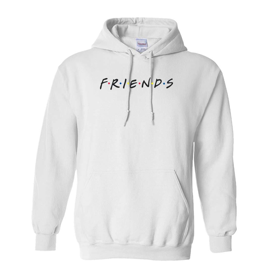 CLOTHING WORLD Friends Black Unisex Hoodie
