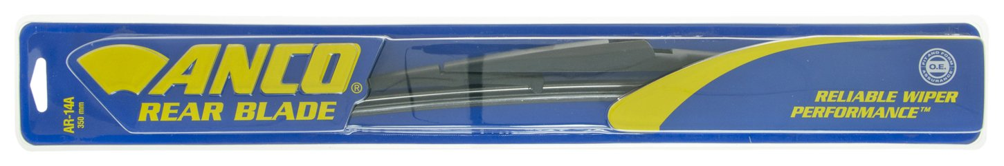 """ANCO AR-14A Rear Wiper Blade - 14"""", (Pack of 1)"""