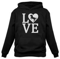 Tstars - Love Horses Gift for Horse Lover Women Hoodie