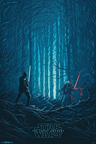 """Trends International Star Wars the Force Awakens Standoff Collector's Edition Wall Poster 24"""" x 36"""""""