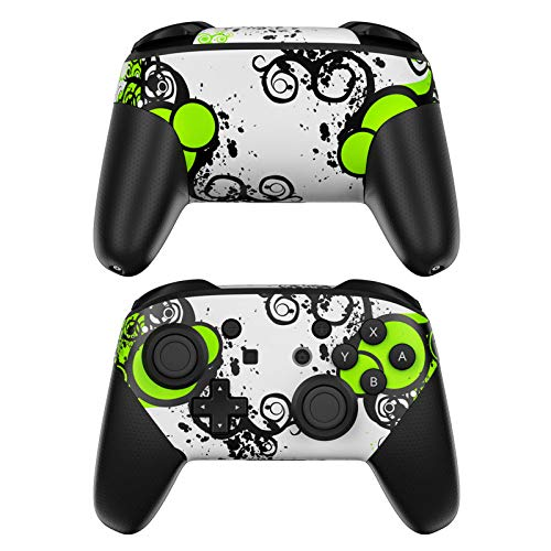 Simply Green Decalgirl Skin Sticker Wrap Compatible with Nintendo Switch Pro Controller