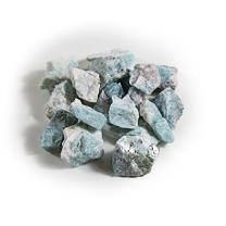 1 lb Bulk Amazonite Rough Stones - Natural Raw Stones Mix & Fountain Rocks for Tumbling, Cabbing, Polishing, Wire Wrapping, Wicca & Reiki Crystal Healing