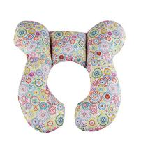 Baby Neck Pillow, KAKIBLIN Infant Head and Neck Support Baby Travel Pillow for Car Seat, Pushchair, for 0-1 Years Old Baby