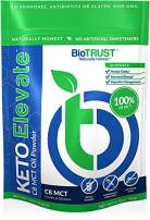 BioTrust Keto Elevate, Pure C8 MCT Oil Powder, Ketogenic Diet Supplement, Keto Coffee Creamer, Clean Energy, Mental Focus and Clarity, 100% Caprylic Acid (20 Servings)…