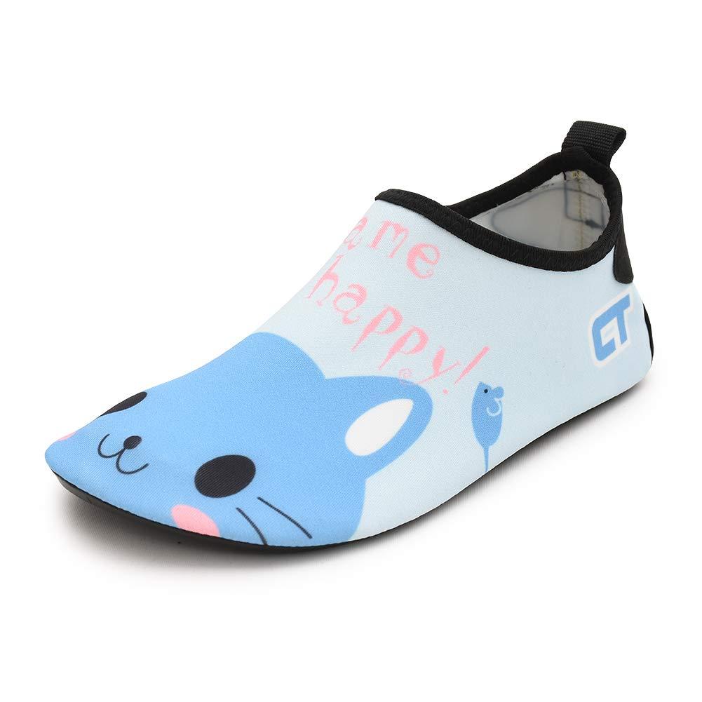 Chiximaxu Boys Girls Summer Swim Beach Shoes Slip On Barefoot Surf Dive Socks