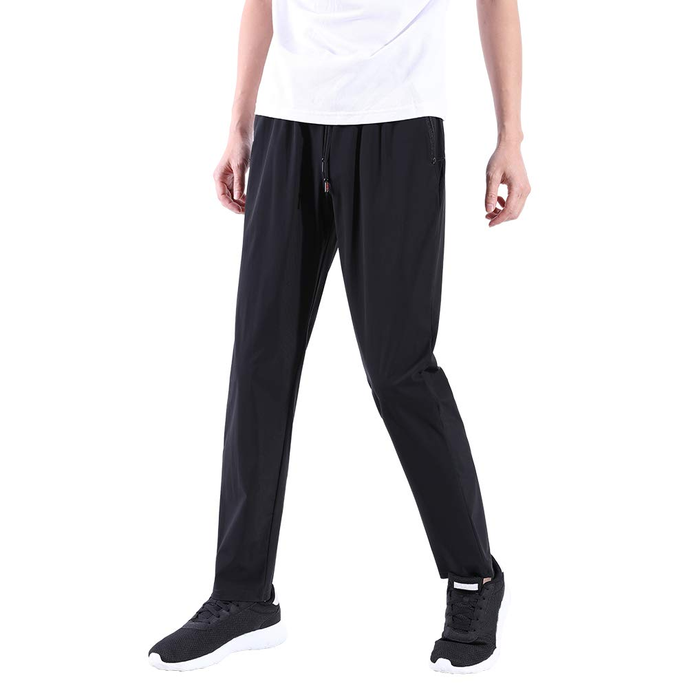 Ancient Star Men's Jogger Casual Pants Lightweight Breathable Quick Dry Hiking Running Outdoor Sweatpants