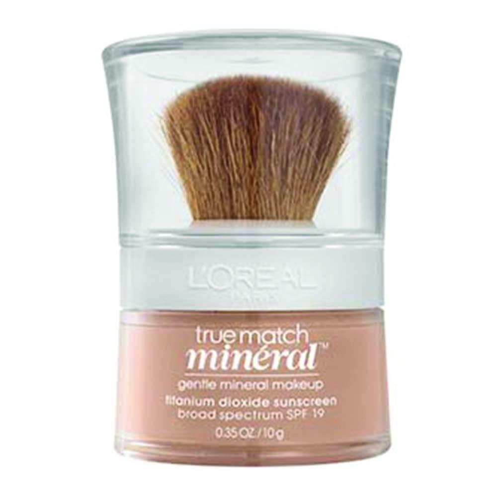 L'Oreal Paris True Match Mineral Loose Powder Foundation, Natural Buff, 0.35oz