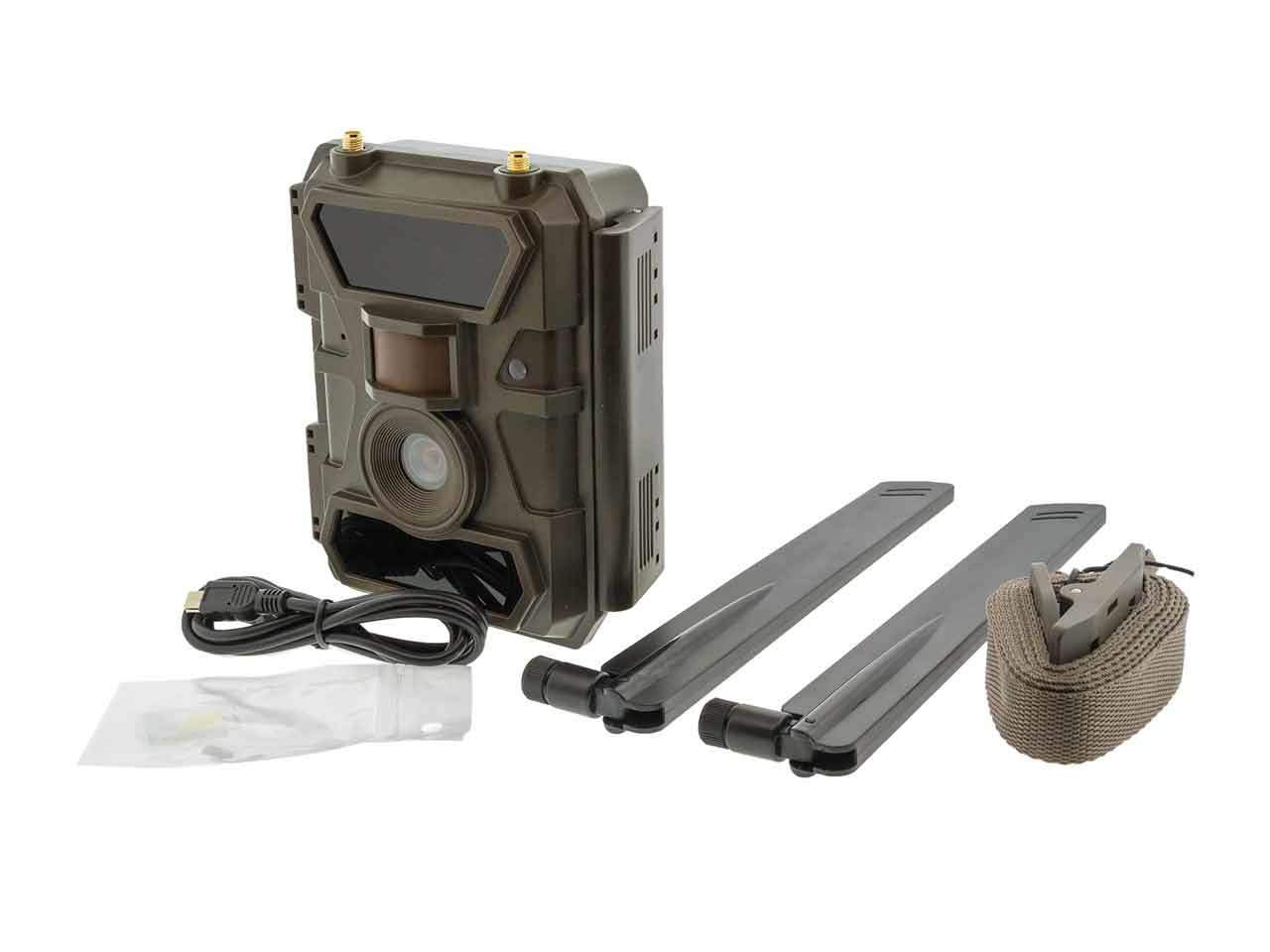 Remote Scout Cellular 4G Outdoor Camera - 4G Trail Camera - Security Camera - No Local Internet Required!