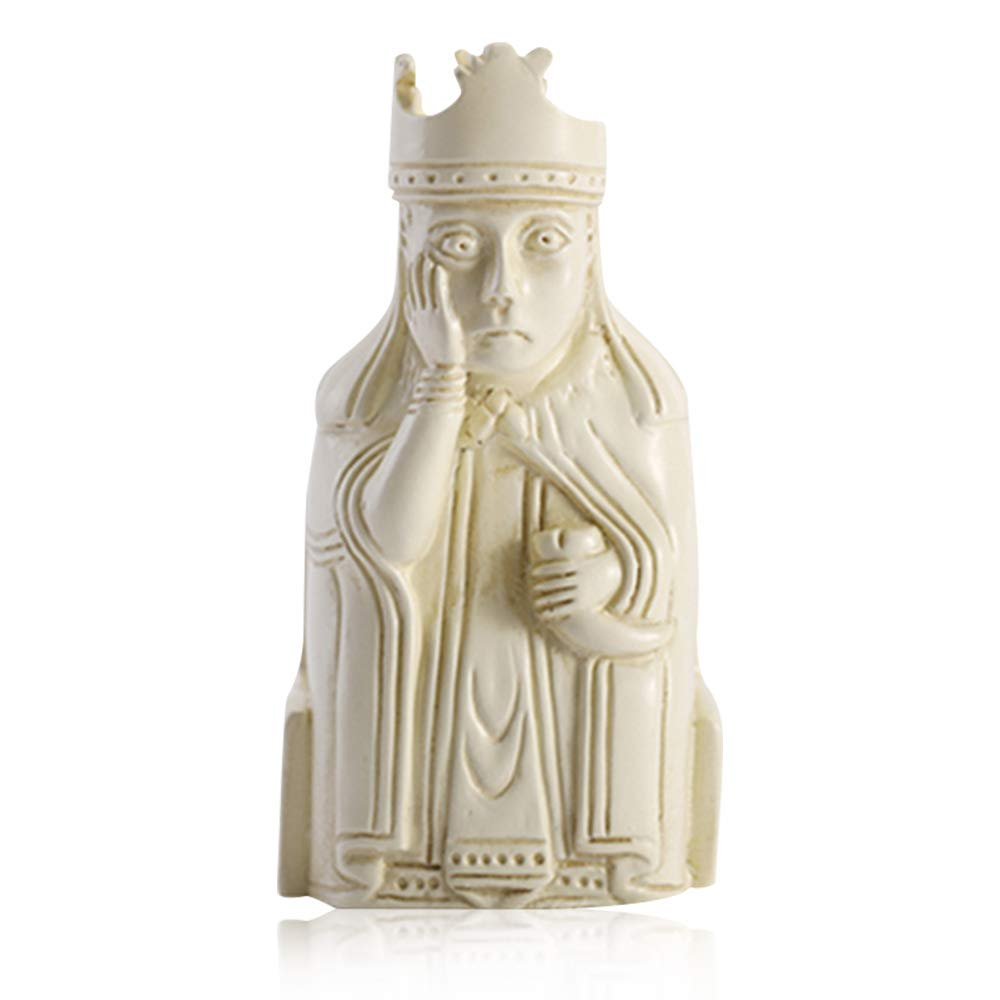THE BRITISH MUSEUM Refrigerator Magnets, Easter Gifts Queen of Lewis Chessmen Creative Fridge Magnets Fun Magnets for Refrigerator Kitchen Office Cabinet Decorative