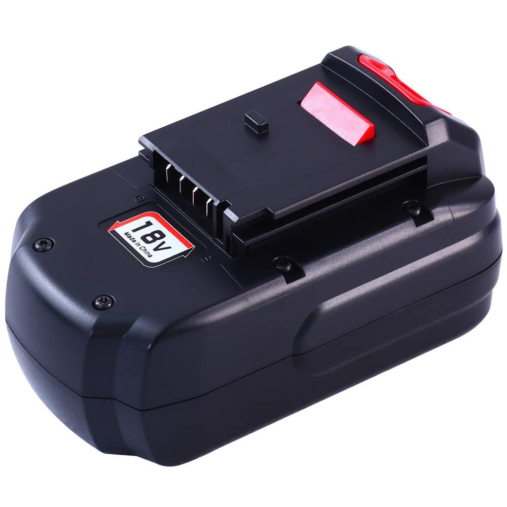 Replacement PC18B Battery for Porter Cable 18V Battery 3.0Ah PC188 PCC489N PCMVC PCXMVC 18-Volt Cordless Tools Batteries