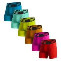 Counting Stars Men's Boxer Briefs Underwear Cotton Colorful Mens Underwear Boxer Briefs for Men Pack S M L XL XXL