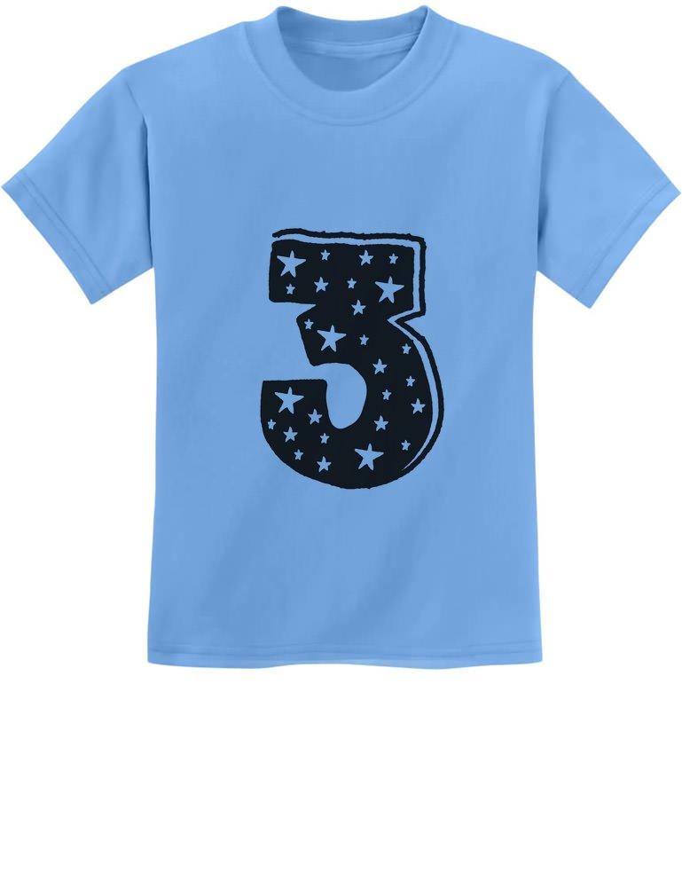 Three Years Old Boy / Girl Birthday Gift Idea - I'm 3 Superstar Kids T-Shirt 3T California Blue