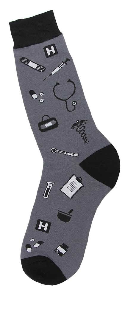 Foot Traffic, Men's Special Interest Socks (Shoe Sizes 7-12)