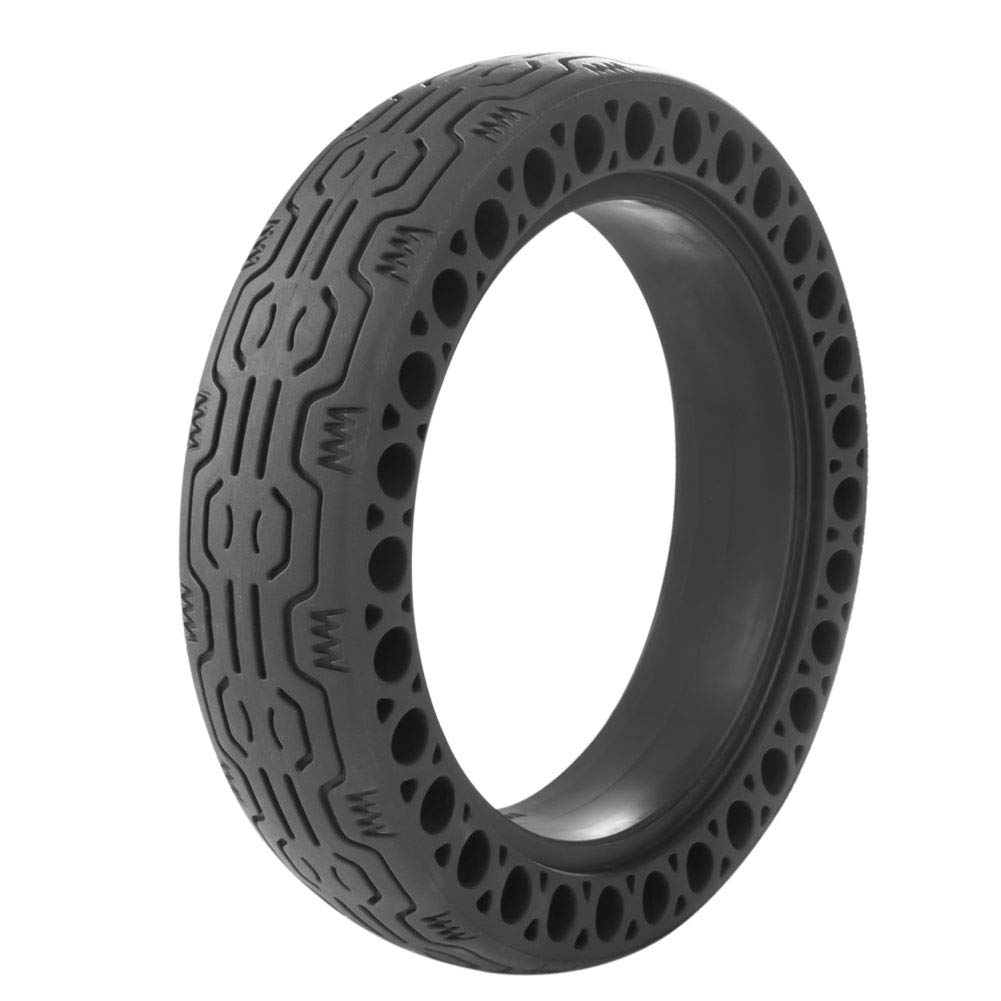 AOWISH Solid Tire Replacement for Electric Scooter Xiaomi Mijia M365 / Gotrax GXL V2, 8.5 inches Scooter Wheel's Replacement Explosion-Proof Solid Tire, Tires & Accessories [One Piece] (Black)