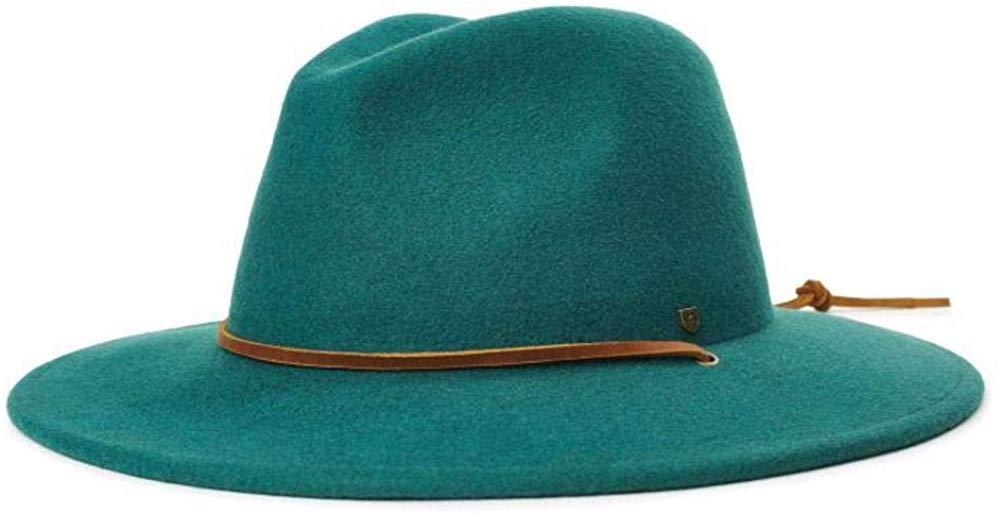 Brixton Men's Field Wide Brim Felt Fedora Hat