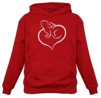 Tstars - Love Heart Bunny Easter Women Hoodie