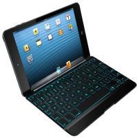 ZAGG Cover with Backlit Bluetooth Keyboard for Apple iPad mini 1 / mini 2 / iPad Mini 3- Black