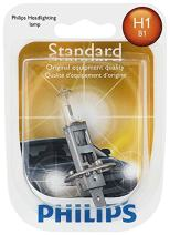 Philips 12258B1 H1 Standard Halogen Replacement Headlight Bulb, 1 Pack
