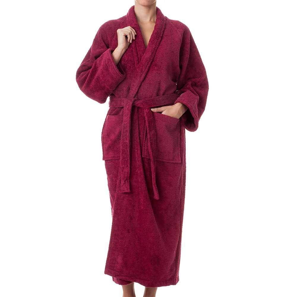 Robes for Women and Men - 100% Long Staple Cotton Plush Terry Cotton Unisex Robe