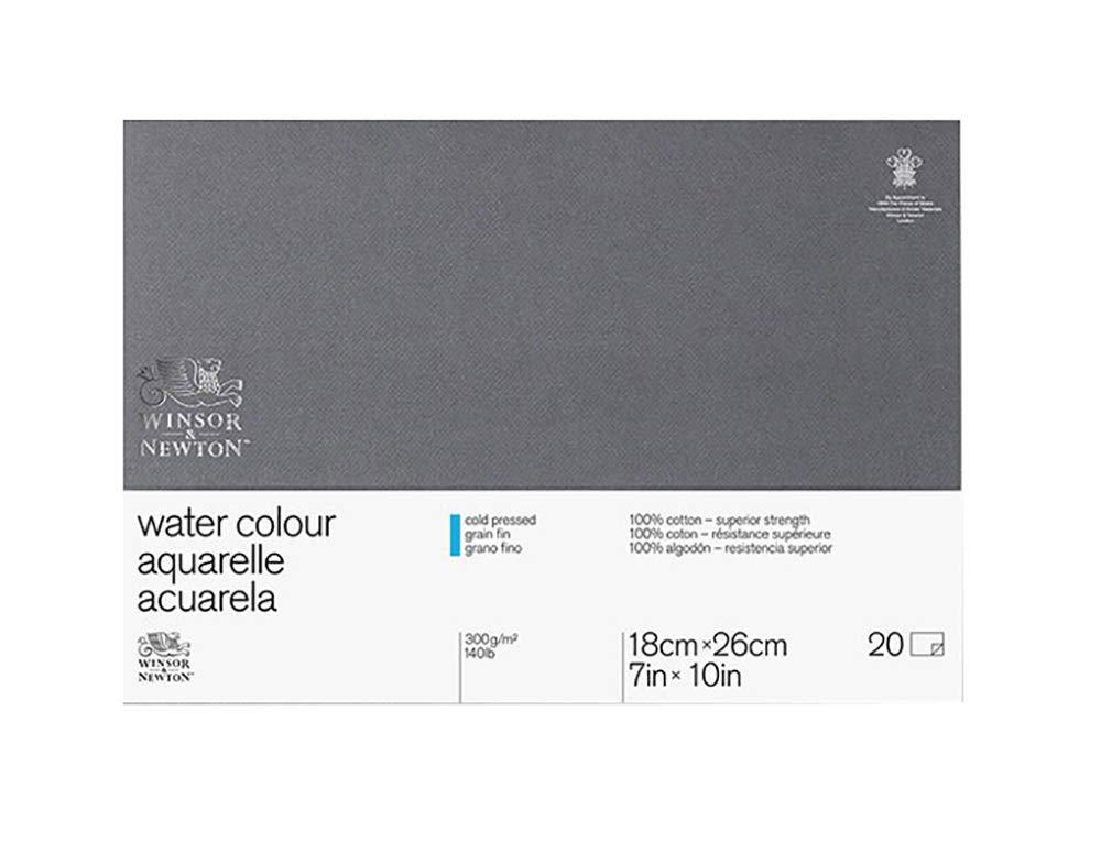 "Winsor & Newton Professional Watercolor Paper Block, Cold Pressed 140lb, 7""x10"" (6663262)"