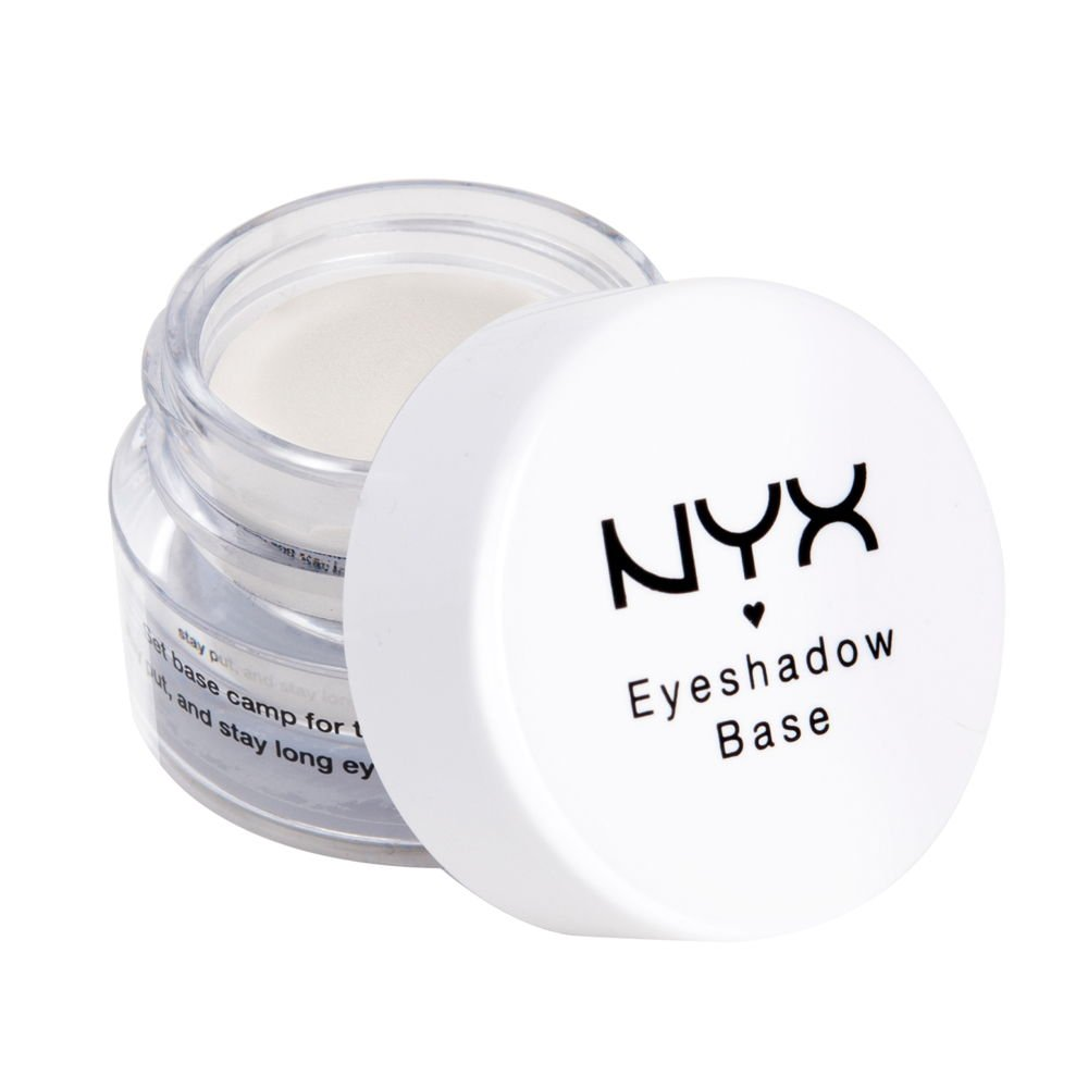 NYX PROFESSIONAL MAKEUP Eyeshadow Base Primer, White Pearl