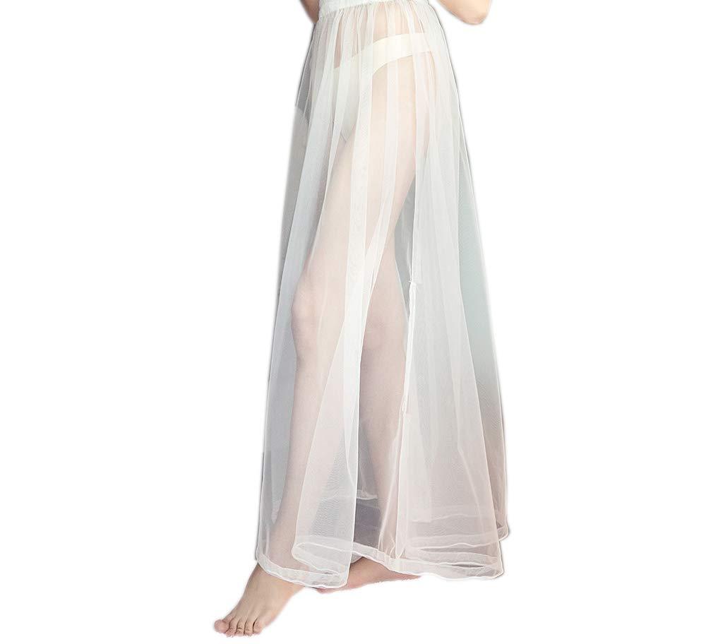 FANHAO Bridal Wedding Buddy-Toilet Petticoat/Underskirt/Crinoline/Undergarment Slip for Bridal Wedding Dress Underskirt, Easy Bathroom Use