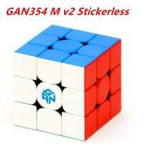 CuberSpeed GAN354 M v2 Stickerless Gans Magnetic Speed Cube 3x3x3 GAN354 M V2 Puzzle