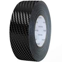 VViViD Dry Carbon Fibre Detailing Vinyl Wrap Tape 2 Inch x 20ft Roll DIY (Black)