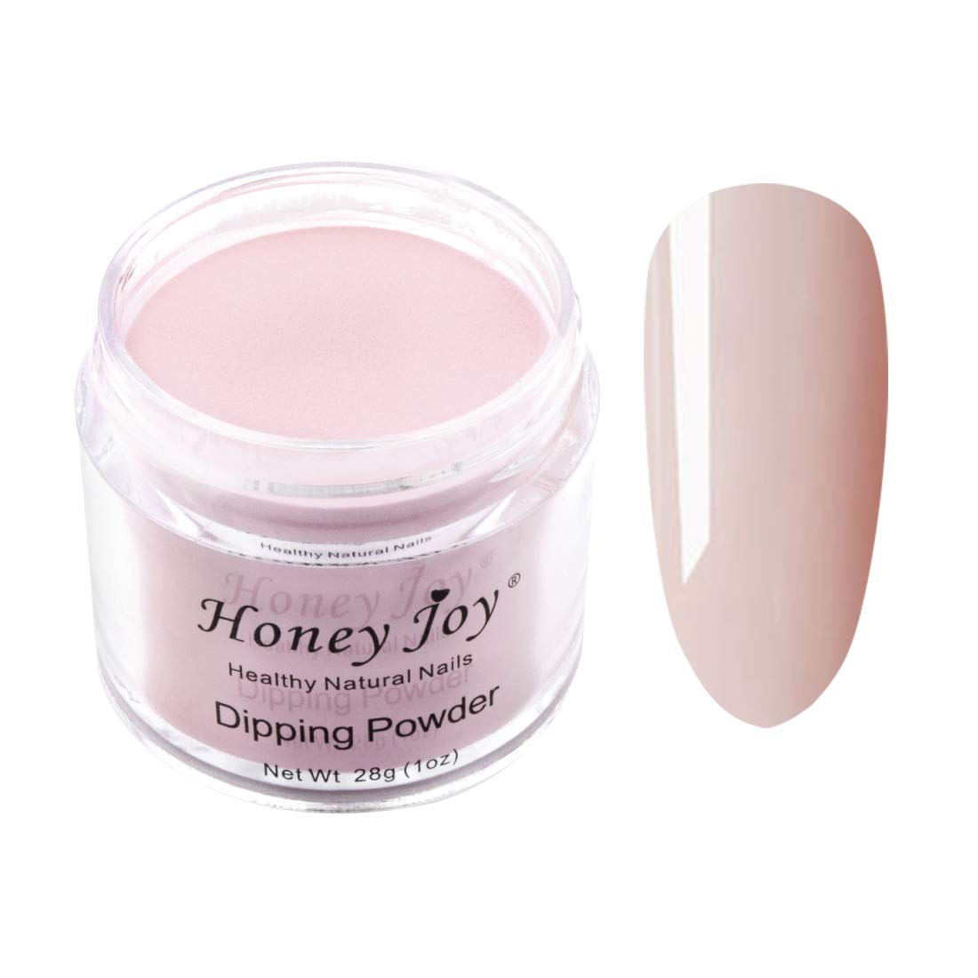 28g/Box Fine Dipping Powder Nude Color, Bare, Naked Color, Without Lamp Cure Nails Dip Powder Summer Gel Nail Color Powder Natural Dry, Even & Smooth Finishing (no.8)