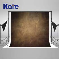 Kate 8×8ft Brown Backdrops Portrait Abstract Photography Background Muslin Abstract Photo Backdrops for Photographer Soft Fabric Cloth Seamless Photo Headshots Props