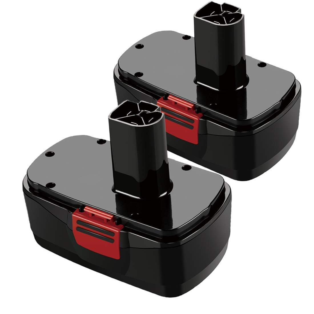 2 Pack 19.2 Volt Battery Replace for Craftsman C3 DieHard 130279005 1323903 11375 11376 120235021 315.115410 315.11485 Cordless Tools - 2 Pack