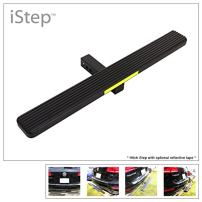 """APS iStep Universal 36"""" Black Aluminum Rear 2"""" Class 3 Hitch Mounting Step Hitchstep Rear Roof Rack Bumper Guard Protector"""