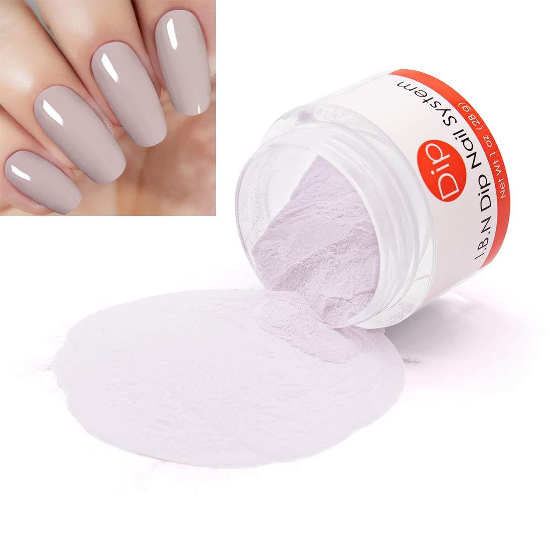 French Nail Dip Powder (Added Vitamin) I.B.N Dipping Powder Color, 1 oz/28g, No Need UV LED Nail Lamp (DIP 007)