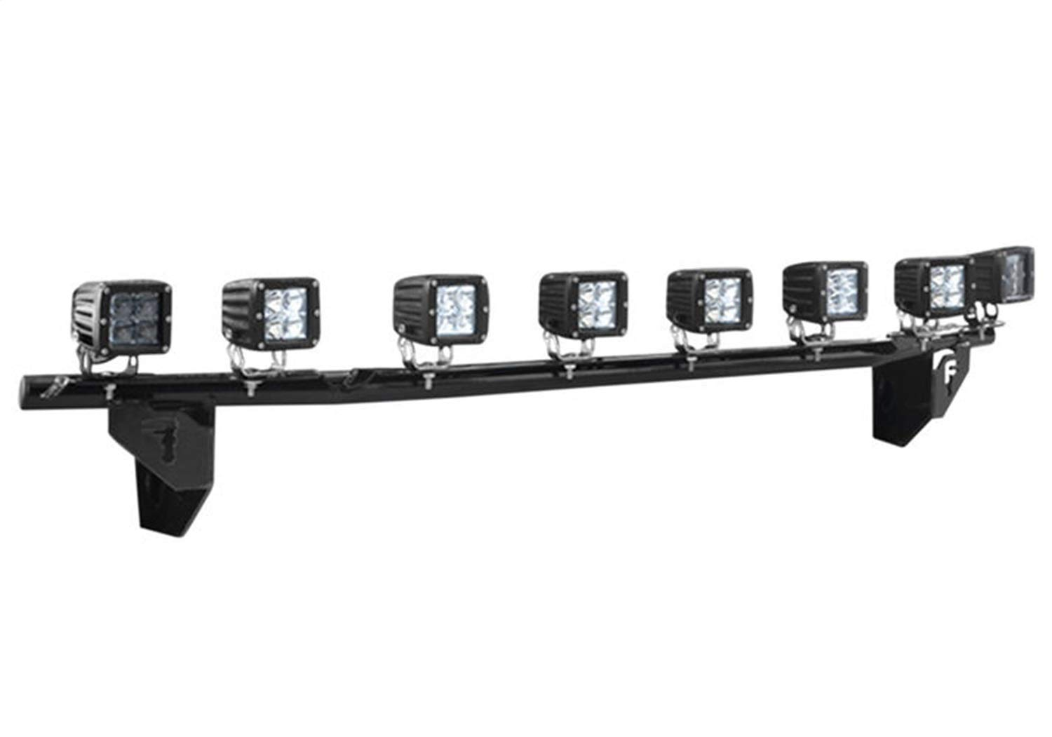 N-Fab F1530LD-TX Textured Black Light Bar : Multi-Mount System (MMS) Black-F1530LD-TX