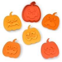 Fred SNACK-O-LANTERN Cookie Cutter/Stampers, Set of 6