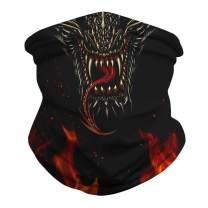 FaroDor Bandana Rave Face Mask Dust Cover Scarf Neck Gaiter Reusable Face Covering,Balaclava, Headwrap, Helmet Liner